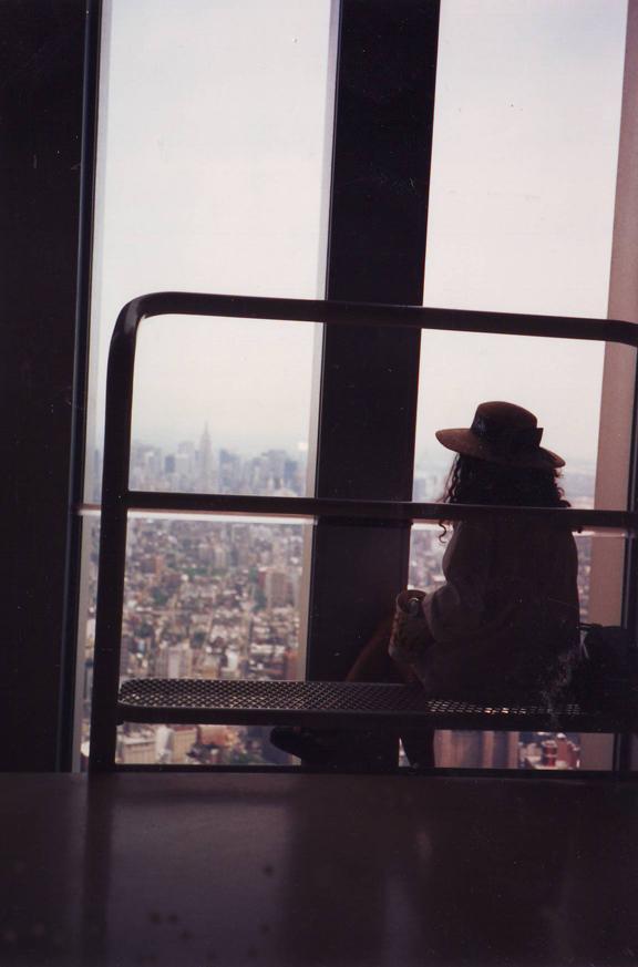 На последния етаж на Световния търговски център